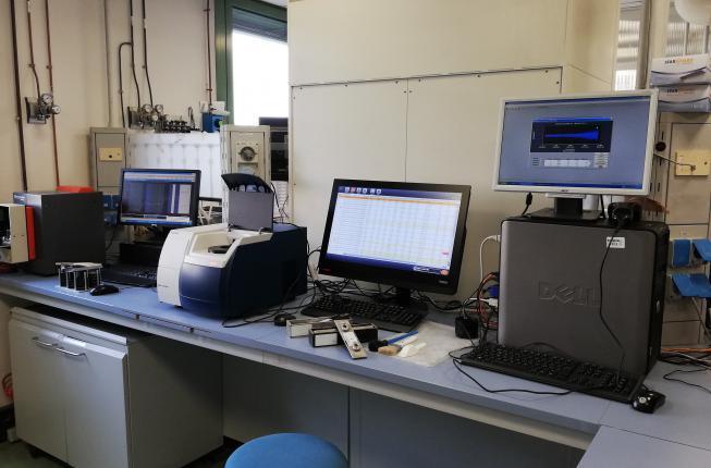 Collegamento a Laboratorio Chimico NIRS XRF